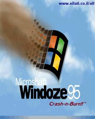 Microsoft Windoze 95 Crush-n-Burn