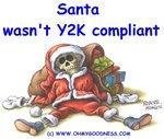 Санта не совместим с 2000 годом