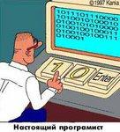 Настоящий программист работает с двоичным кодом