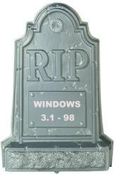 RIP Windows 3.1-98