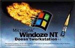 Microjunk Windoze NT