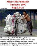 Баглист Microsoft Windows 2000