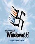 Microsoft Windows 98 - computer kaput