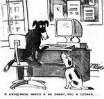 В интернете никто и не знает, что я собака