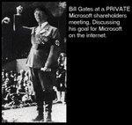 Билл Гейтс выступает в Microsoft